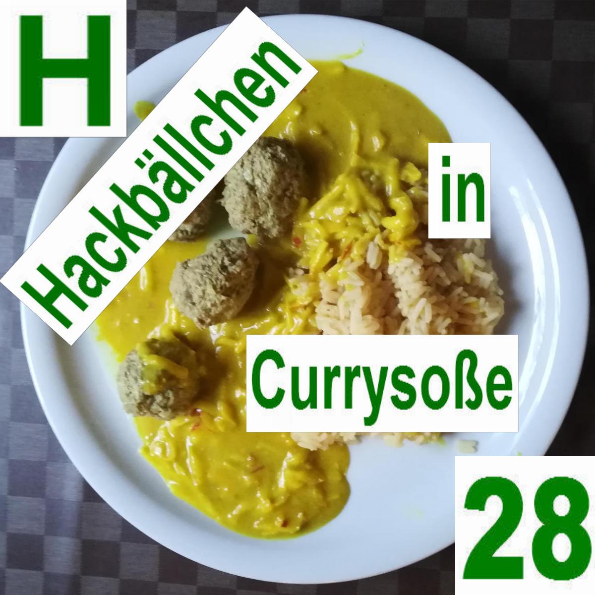 Hackbällchen Currysoße | vonMich