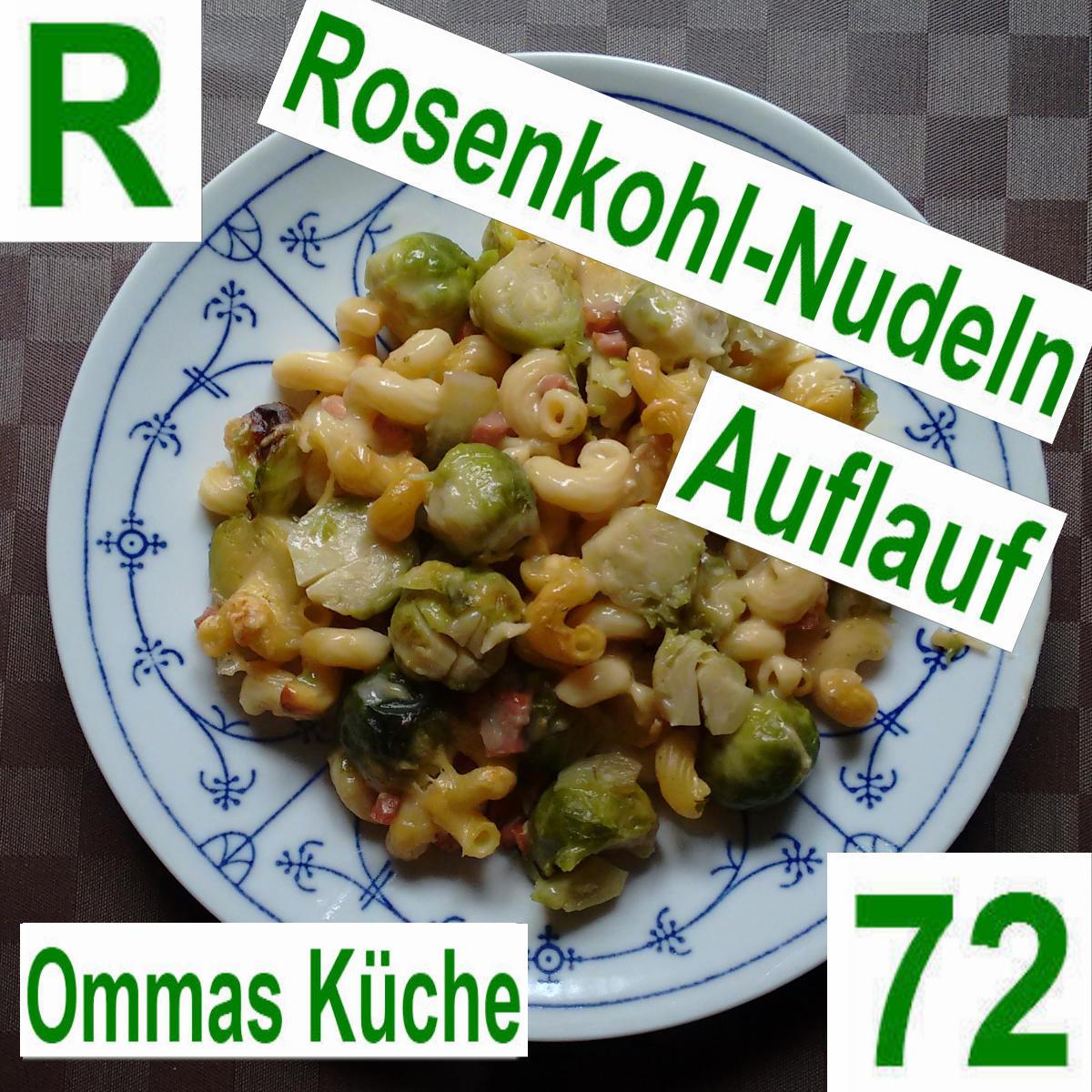 Rosenkohl-Nudel-Auflauf | vonMich