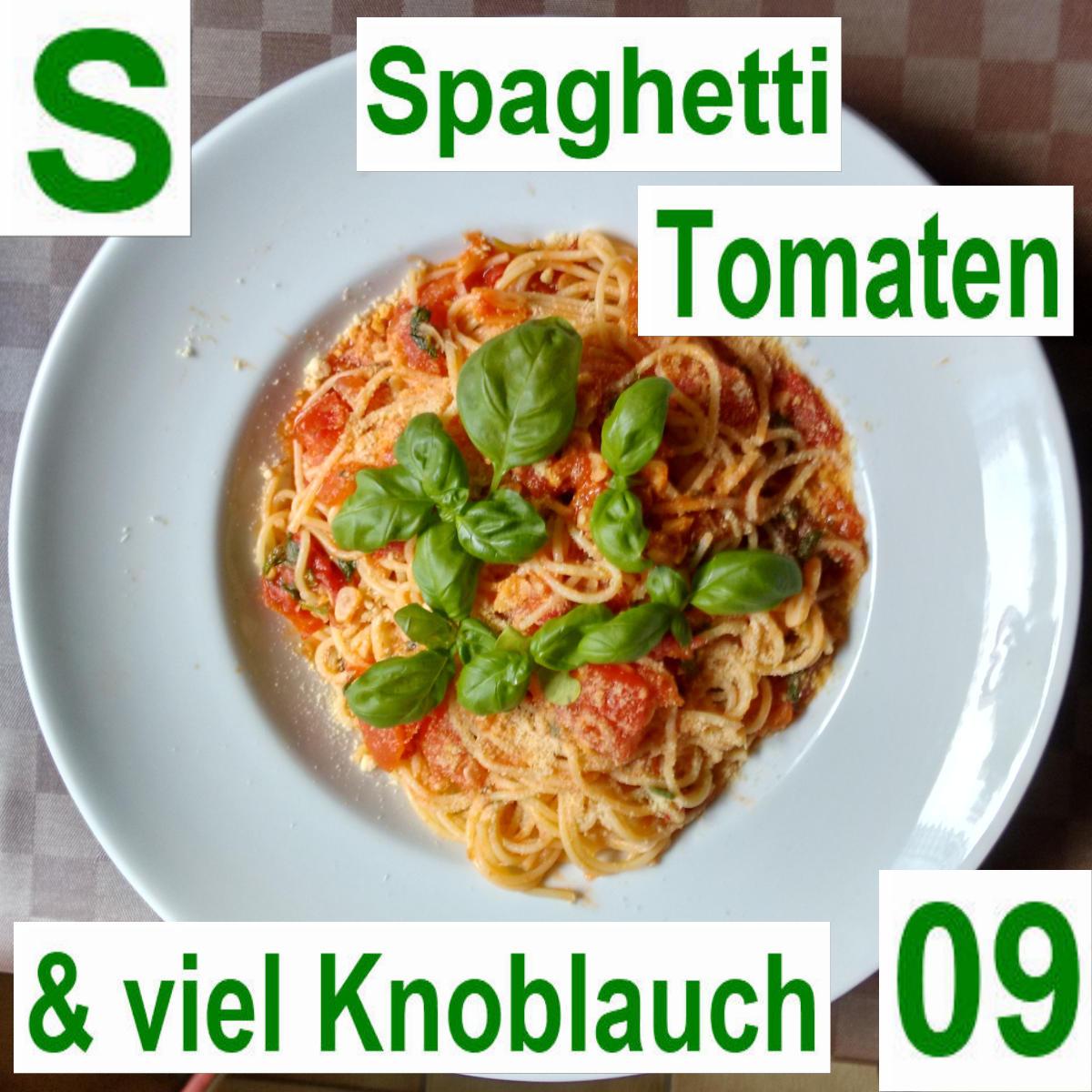 Spagetti Tomaten Knobi | vonMich