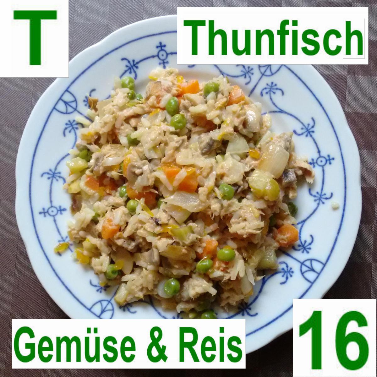 Thunfisch Gemüse & Reis | vonMich
