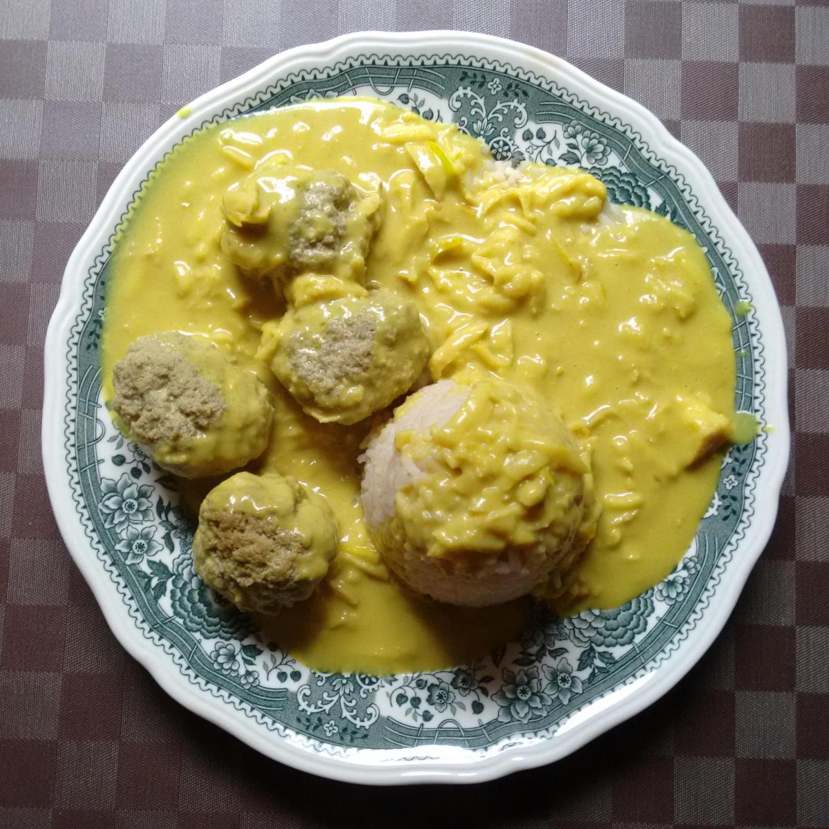 Curry-Hackbällchen | vonMich