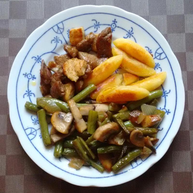 Bohnen/Pilze in Rahm | vonMich