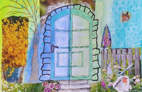 Tür 2 | von Ilona