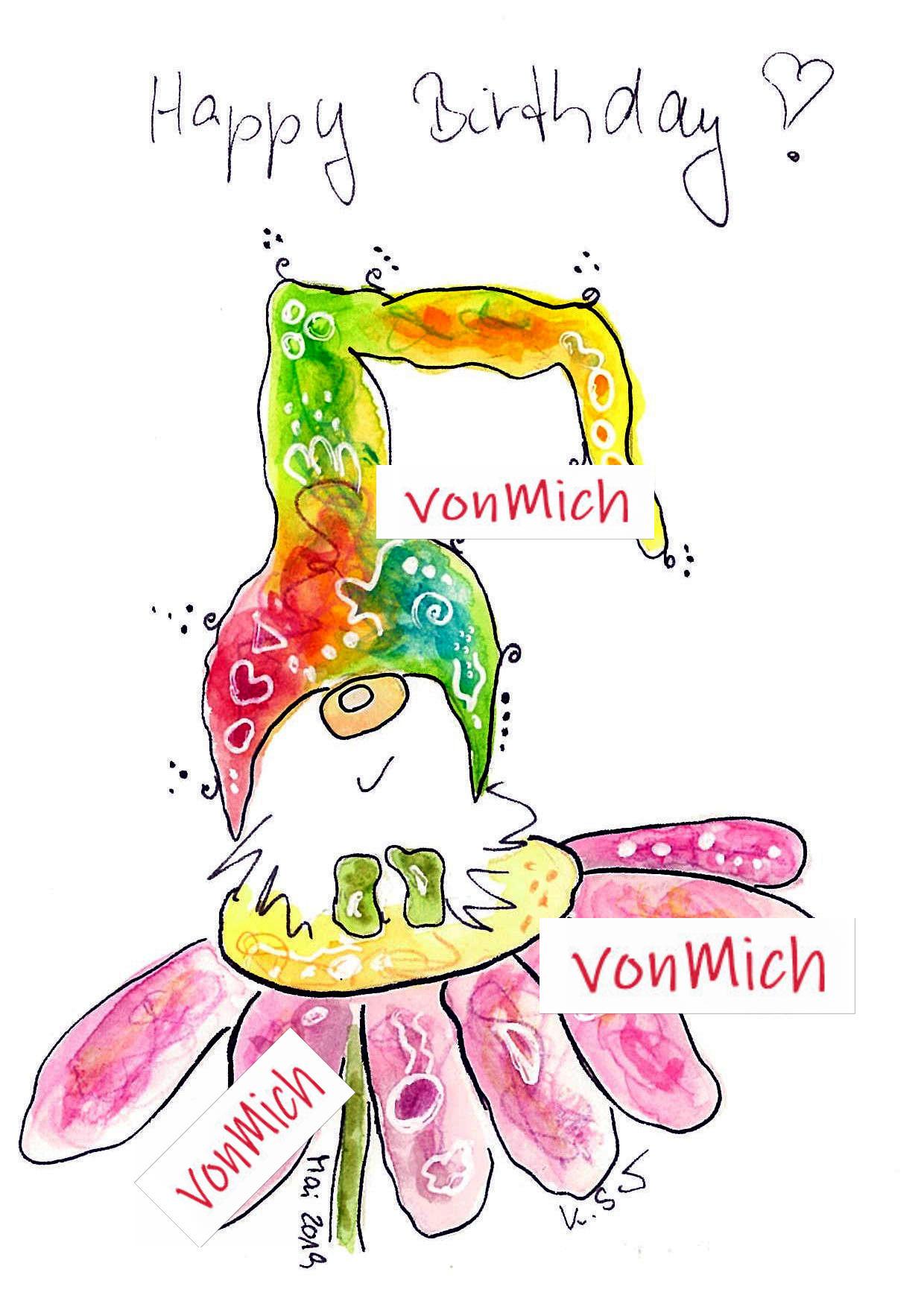 Wichtel pink | vonMich