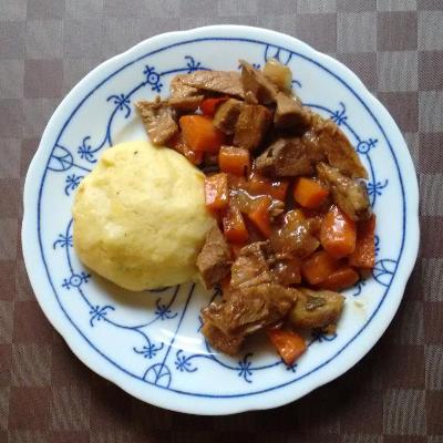 Möhren Knödel Fleisch | vonMich