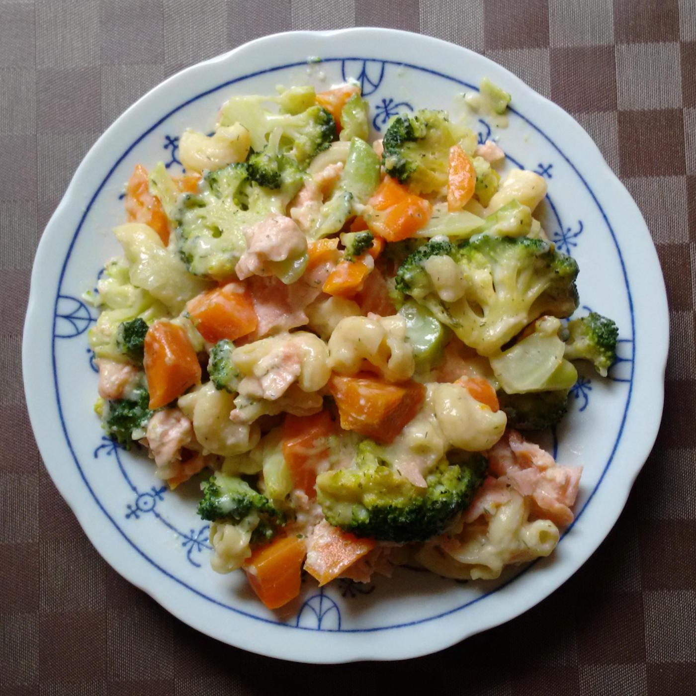 Lachs Broccoli Auflauf | vonMich