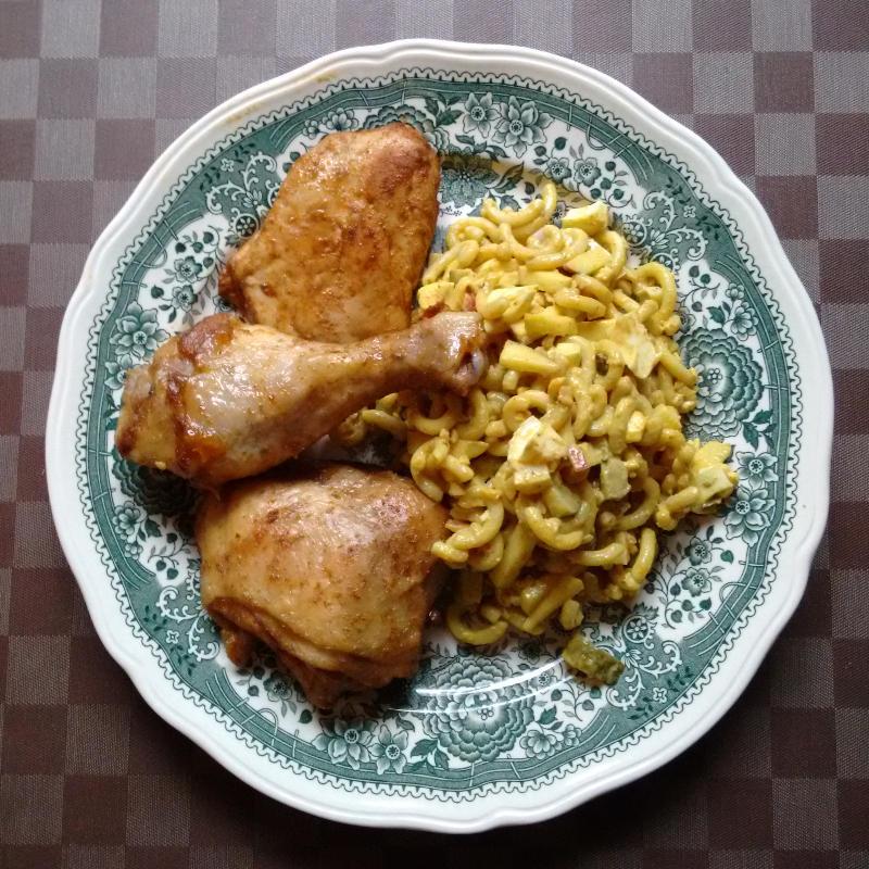 Nudelsalat Indisch Curry | vonMich