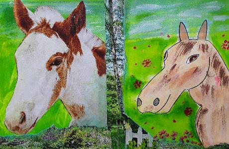 Pferd Muster | von Ilona