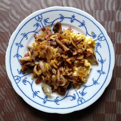Pilze Nudeln Ei | vonMich