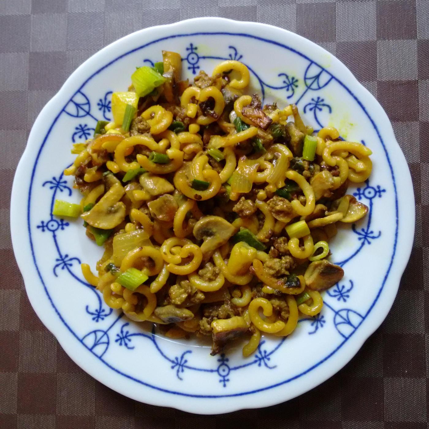 Pilz-Tartar-Nudel-Pfanne | vonMich