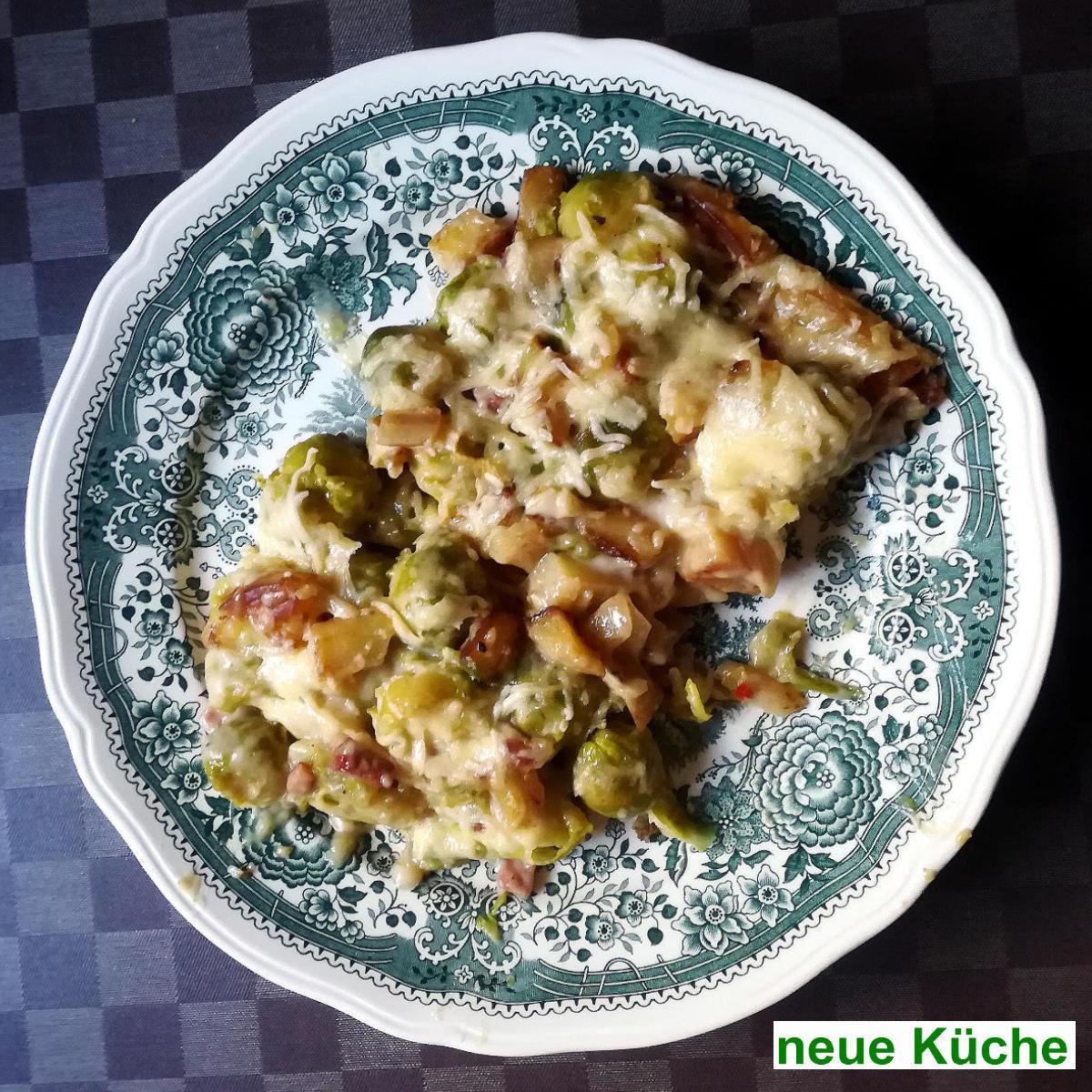 Rosenkohl-Kartoffel-Auflauf | vonMich