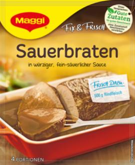 Sauerbraten Fix & Frisch von Maggi | vonMich