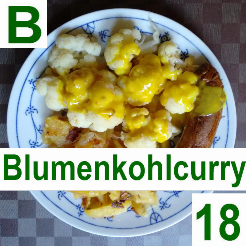 Blumenkohl-Curry 18 | vonMich